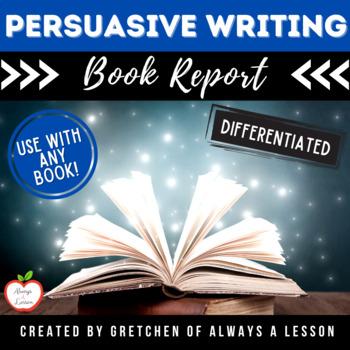 Book Buzz: Persuade-A-Peer Book Report