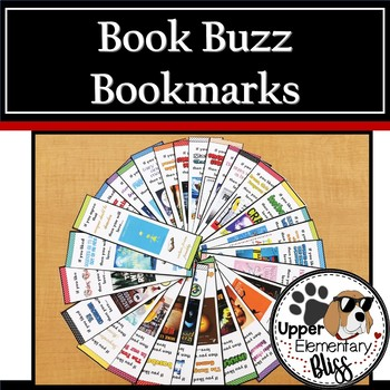 Book Buzz Bookmarks