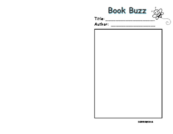 Book Buzz Foldable