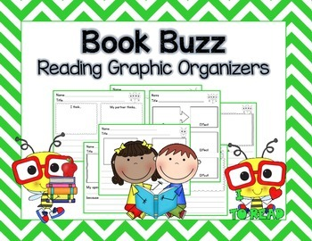 Book Buzz:  Reading Graphic Organizers