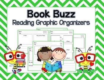 Book Buzz:  Reading Graphic Organizers