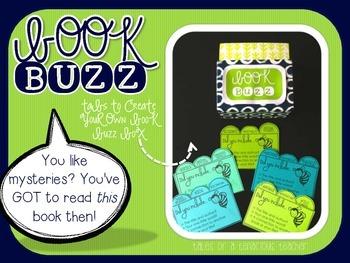 Book Buzz Tabs: Pre-made and Editable