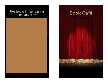 Book Cafe' Brochure