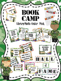 Book Camp Library/Media Center Pack {with EDITABLE passes and signs}