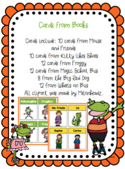 Book Cards