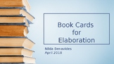 Book Cards for Elaboration