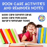 Book Care Activities and Reminder Notes