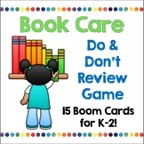 Book Care BOOM Cards | Distance Learning