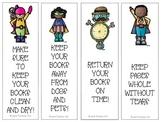 Book Care Bookmarks