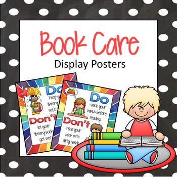 Book Care Display Posters