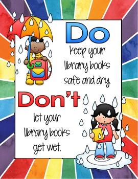 Book Care Display Posters