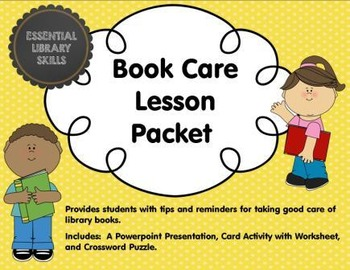 Book Care Lesson Packet