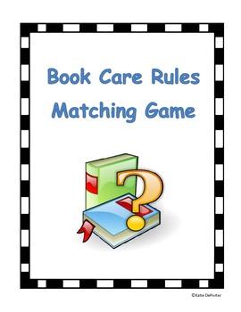 Book Care Memory Game