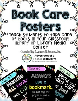 Book Care Poster Pack