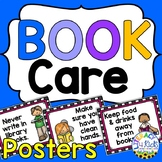 Book Care Rules Mini Posters