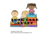 Book Care Rules Sorting Game