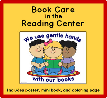 Book Care in the Reading Center