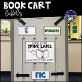 Book Cart Labels
