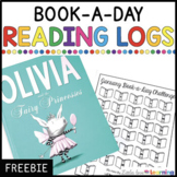FREE Reading Logs (Book Tracker Sheets)