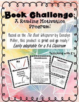 Book Challenge: A Motivational Reading Tool for Young Readers!