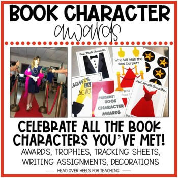 Book Character Awards {Character Traits}
