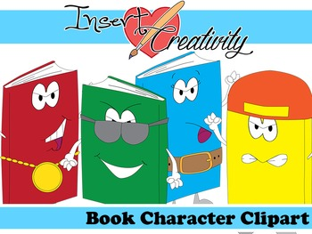 Book Character Clipart