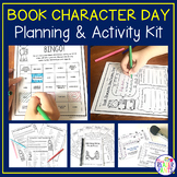 Book Character Day Planning Kit