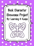 Book Character Showcase Project!