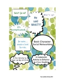 Book Character Social Networking-HS English/Foreign Langauge litturature