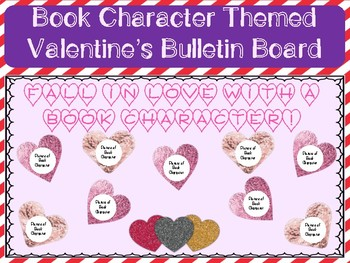 Book Character Themed Valentine S Bulletin Board Tpt