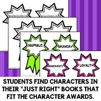 Character Trait Awards