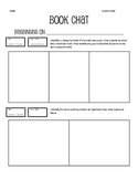 Book Chat / Reading Log / Book Report