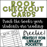 Book Check Out Cards