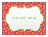 FREEBIE Book Check-Out Log