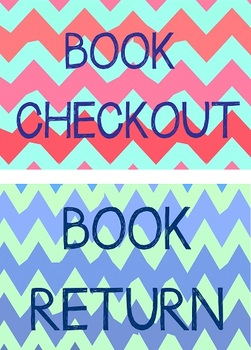Book Checkout Signs