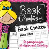 Book Choices {FREEBIE!}