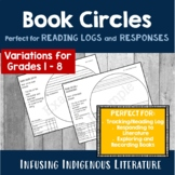 Reading Log Book Circles - Primary Home Reading