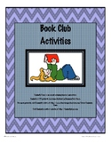 Book Club Activities Packet