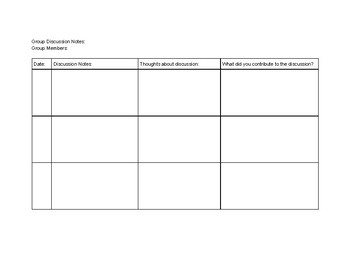 Book Club Activity Packet