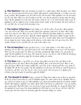 Book Club Alternative Assessments