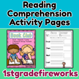 """Book Club""  Book Reports for Reading Comprehension"