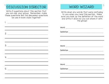 Book Club Booklet