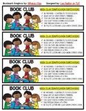 Book Club Bookmarks - 2 Designs