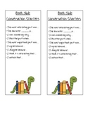 Book Club Bookmarks with Conversation Prompts
