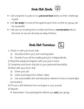 Book Club Bundle - Everything You Need to Start Book Clubs or Literature Circles