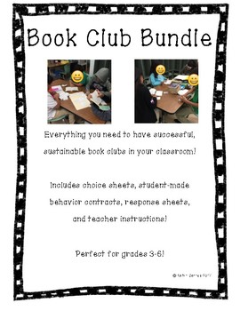 Book Club Bundle! Perfect for Grades 3-6