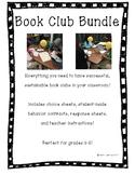 Book Club Bundle! Perfect for Grades 3-6