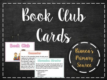 Book Club Cards