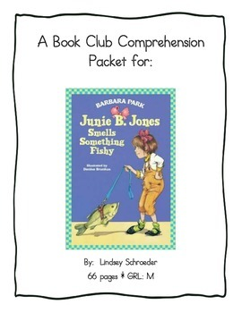 Book Club Comprehension Packet for Junie B Jones Smells Something Fishy