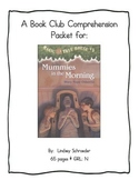 Book Club Comprehension Packet for Magic Tree House #3 Mum